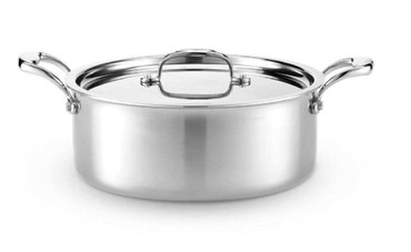 Heritage Steel 6 Quart Rondeau with Lid