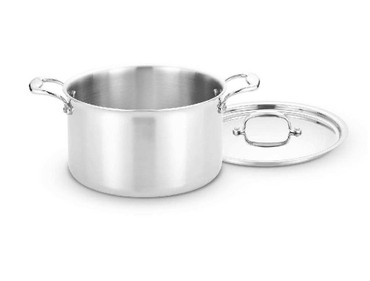 Heritage Steel 8 Quart Stock Pot with Lid