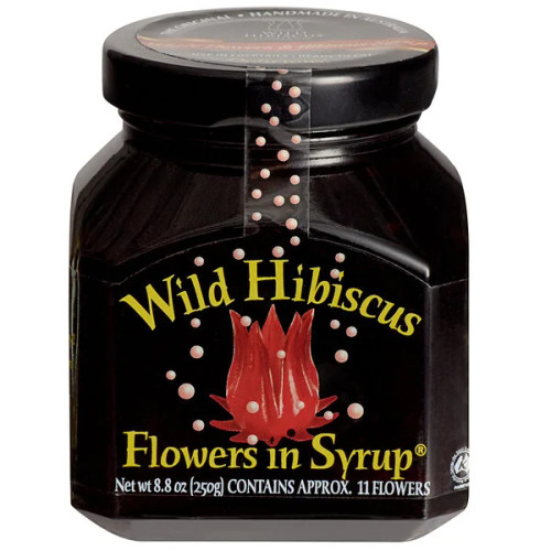 Wild Hibiscus in Syrup