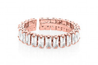 Lizas Rose Gold Crystal Ring