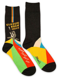 Classic Rock Men's Crew Socks