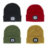 Night Scout LED Beanie Mens