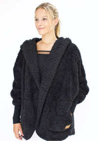 Nordic Beach Wrap Black Licorice