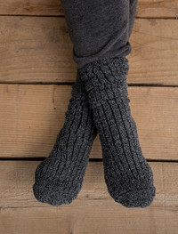 Cozychic Men's Ribbed Socks