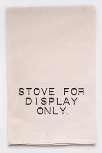 Stove For Display Only Kitchen Towel