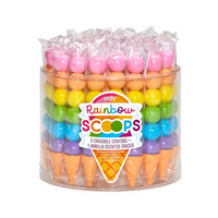 Rainbow Scoops Stacking Crayons