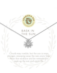 Bask in the Sun Necklace SIlver
