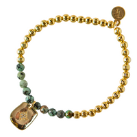 Piper Bracelet African Turquoise