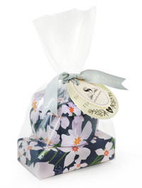 Vanilla Fleur Tin Candle And Soap GIft Set