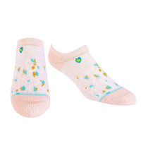 Cat Pink Ankle Socks S/M