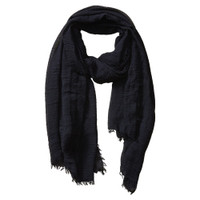 Black Insect Shield Scarf