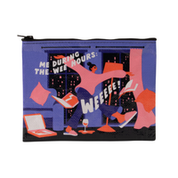 The Wee Hours Zipper Pouch
