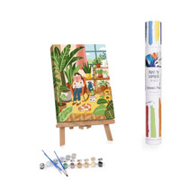 Cozy Reading Paint By Numbers