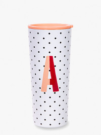 Initial Stainless Tumbler A