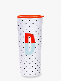 Initial Stainless Tumbler D