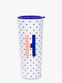 Initial Stainless Tumbler H