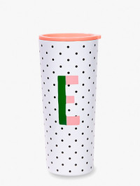 Initial Stainless Tumbler E