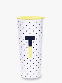 Initial Stainless Tumbler T