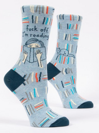 F*ck Off, I'm Reading CrewSocks
