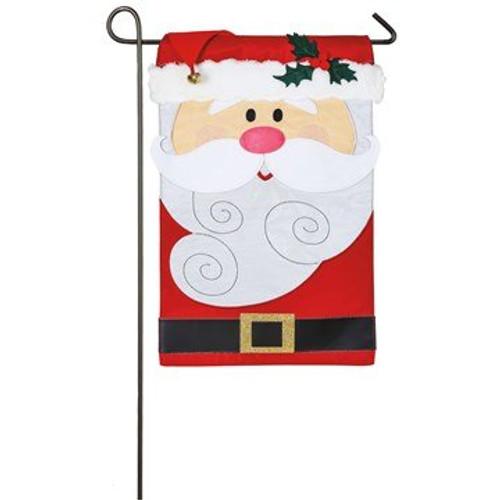 Santa Claus, Garden Flag
