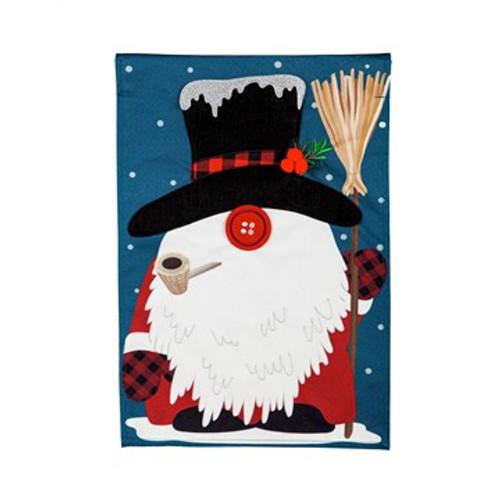 Winter Gnome, Garden Flag