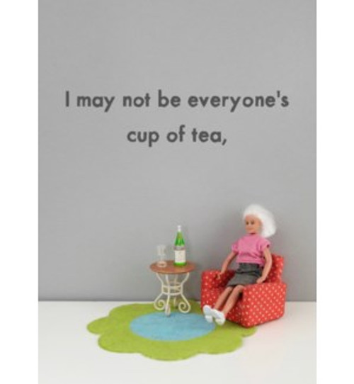 Bold and Bright Cup of Tea Card