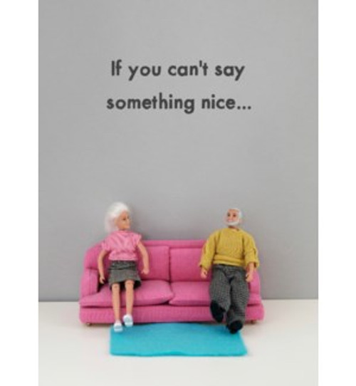 Bold and Bright Say Something Nice Card