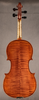 Violin by J.B. Colin 1898 back.