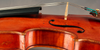 German Violin circa 1920 Side