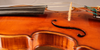 Violin by Gaetano Gadda 1950 side.