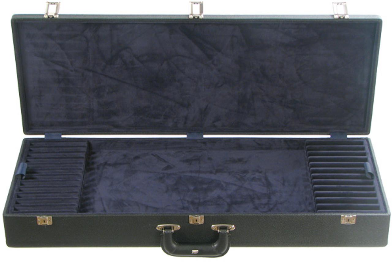 Bobelock Six Violin-Viola-Cello Bow Case with Wine Velour Interior