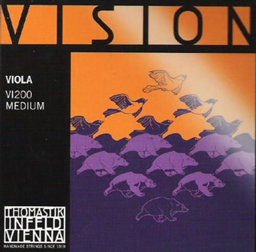 "Vision Strings Set for Viola - VI200 - 15""-15.5"""