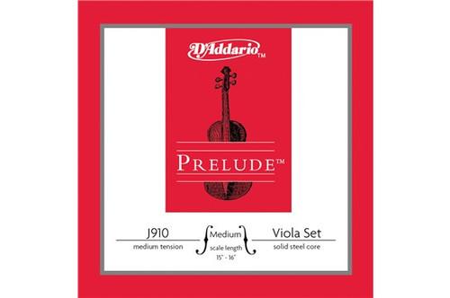 "D'Addario Prelude Set for Viola J910 - Medium 15-16"""