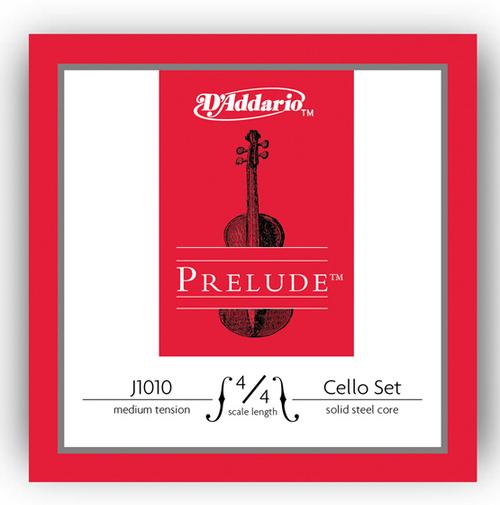 D'Addario Prelude Cello Strings Set - 4/4