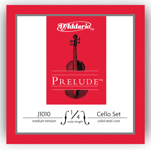 D'Addario Prelude Cello Strings Set - 1/4