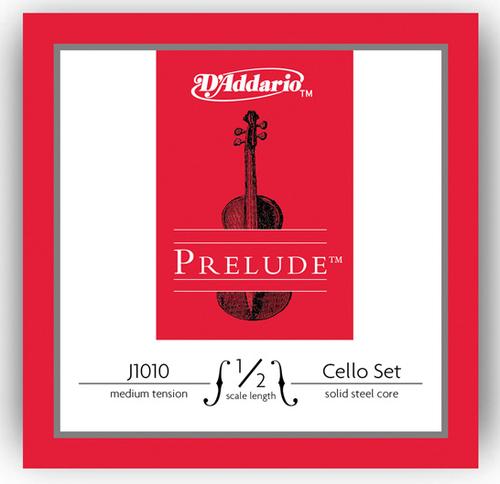 D'Addario Prelude Cello Strings Set - 1/2