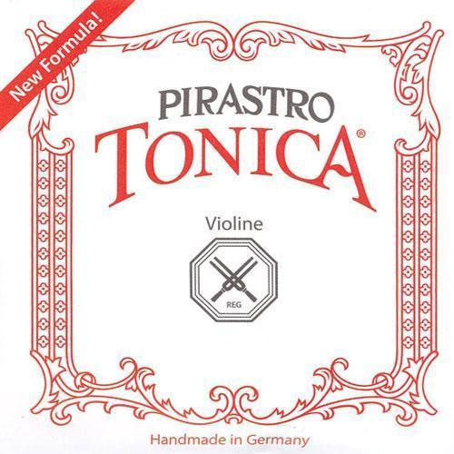 Pirastro Tonica Violin Strings Set - 3/4 - 1/2, Ball E
