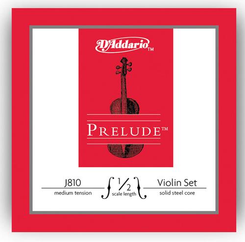 D'Addario Prelude Violin Strings Set - 1/2