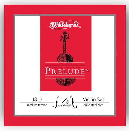 D'Addario Prelude Violin Strings Set - 1/8