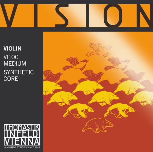 Vision Violin Strings Set VI100 - 1/16