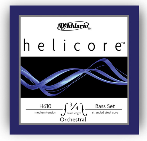 D'Addario Helicore Bass String Set - 3/4