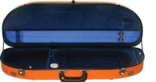 Bobelock Half Moon Fiberglass Viola Case - Many Colors