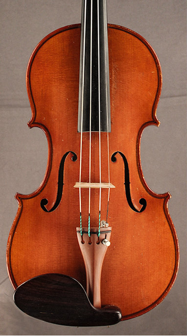 Violin by J.B. Colin 1898 front.