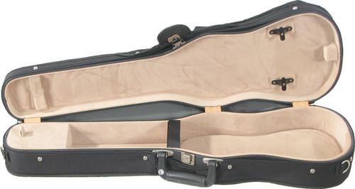 Bobelock Shaped Violin Case - Velour - Tan