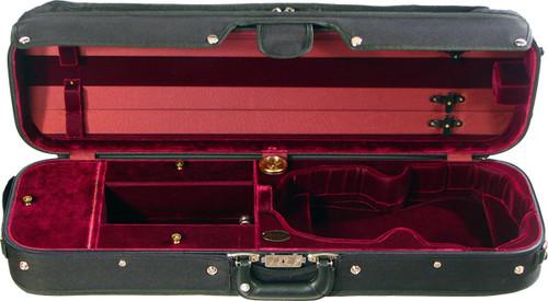 Bobelock Hill-Style Pro Oblong Violin Case - Wine
