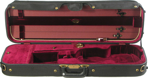 Bobelock Corregidor Oblong Violin Case - Wine
