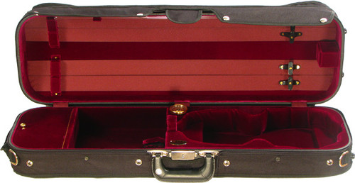 16002 Bobelock Oblong Suspension Violin Case - Velvet