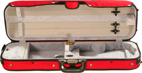 16002 Bobelock Puffy Violin Case - Bonded Velvet  - 4/4