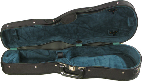 "Bobelock Shaped 15"" Viola Case - Green"