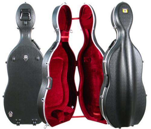 Core Thermoplastic Cello Case with Wheels